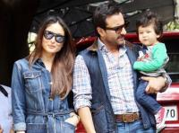 Kareena and Saif with Taimur