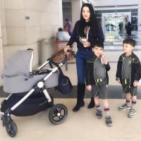 Celina Jaitly and Peter Haag Sons