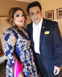 Govinda and Sunita Ahuja