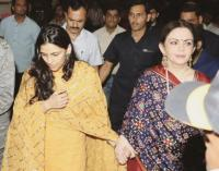 Shloka Mehta and Nita Ambani