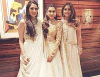Isha Ambani with Shloka Mehta and her sister