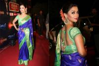 Adaa khan in saree
