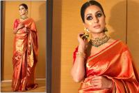 Hina Khan in Saree