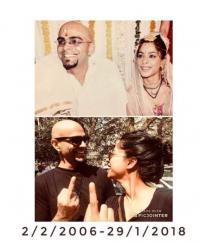 Raghu Ram and Sugandha Garg