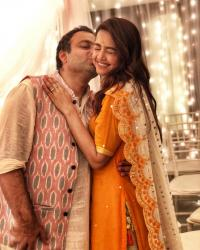 Surveen Chawla and Akshay Thakker