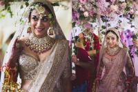 Amrita Puri on her wedding