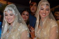 Ayesha Takia on her wedding