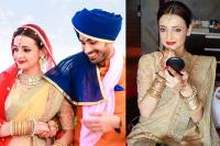 Sanaya Irani on her wedding