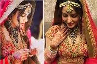Mandana Karimi on her wedding