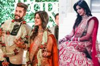 Kishwer Merchant on her wedding