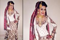 Nigaar Khan on her wedding