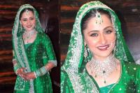 Sanjeeda Sheikh on her wedding