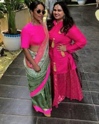 Masaba Gupta and Pooja