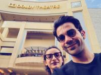 Raj Kummar Rao And Girlfriend Patralekha Romantic US Holiday
