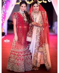 Sania Mirza and Anam Mirza