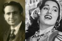 Kidar Sharma And Madhubala