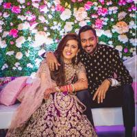 Krunal Pandya and Pankhuri Sharma