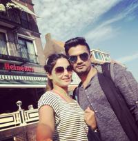 Hina Khan rocky in goa