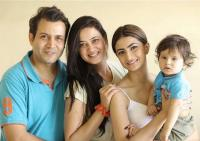 Shweta and Family