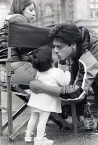 Shah Rukh and Suhana