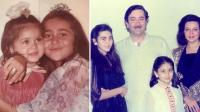 Karisma Kapoor childhood picture