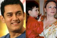 Aamir Khan and Jessica Hines
