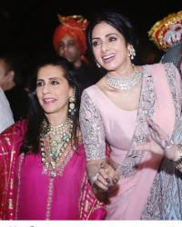 Sridevi and Sunita Kapoor