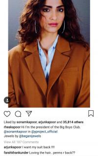 Anand s Ahuja and arjun Kapoor troll sonam Kapoor for wearing oversized clothes