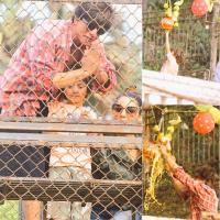 Shah Rukh Khan And His Son AbRam Khan Break Dahi Handi On Janmashtami