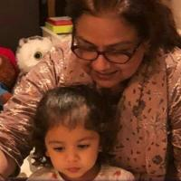 Neelima Azeem and Misha Kapoor