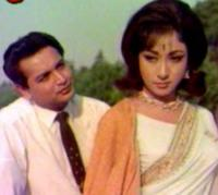 Mala Sinha and Biswajeet