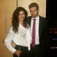 Pooja Batra and Christian Middelthon