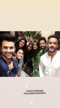 Anita Hassanandani And Rohit Reddy
