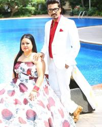 Bharti Singh And Haarsh Limbachiyaa PDA