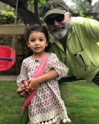 Pankaj Kapur and Misha Kapoor