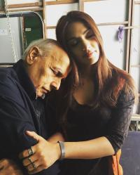 Rhea Chakraborty and Mahesh Bhatt