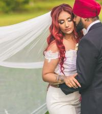 Mundheep and Amandeep  civil wedding