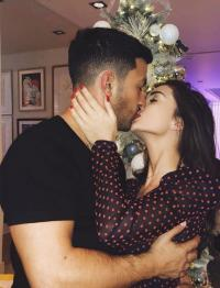 Amy Jackson and George Panayiotou