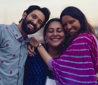 Vikrant Massey and Deepika Padukone