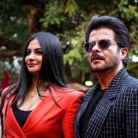 Rhea Kapoor and Anil Kapoor