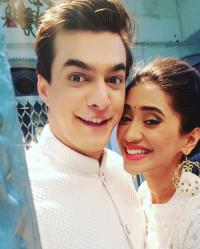 Mohsin Khan and his girlfriend, Shivangi Joshi