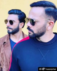 Ranveer Sngh and Rohit Shetty
