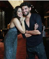 Sonakshi Sinha and Zaheer Iqbal