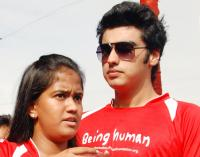 Arjun Kapoor and Arpita Khan