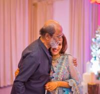 Soundarya and Rajinikanth