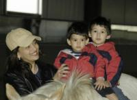 Madhuri and her sons