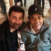 Sunyy Deol and Dharmendra
