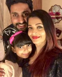 Aishwarya Rai bachchan with family