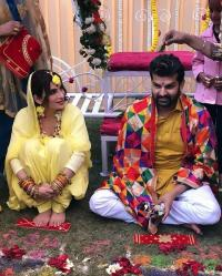 Mansi Sharma And Yuvraj Hans Pre-Wedding Ceremonies Pics