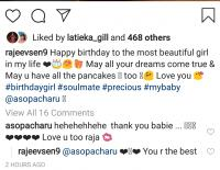 Charu Asopa birthday